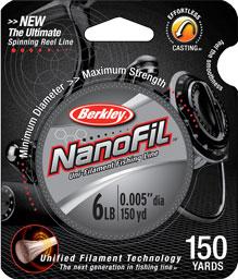 Berkley NanoFil 新世代的釣魚線!!