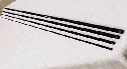 碳纖竿材是怎麼製作的