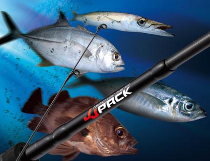 Golden Mean JJ-PACK 伸縮海水超輕量翹班竿,讓你想釣就釣!