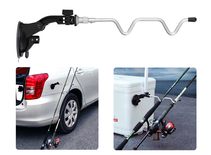 ProX 強力吸盤式竿架