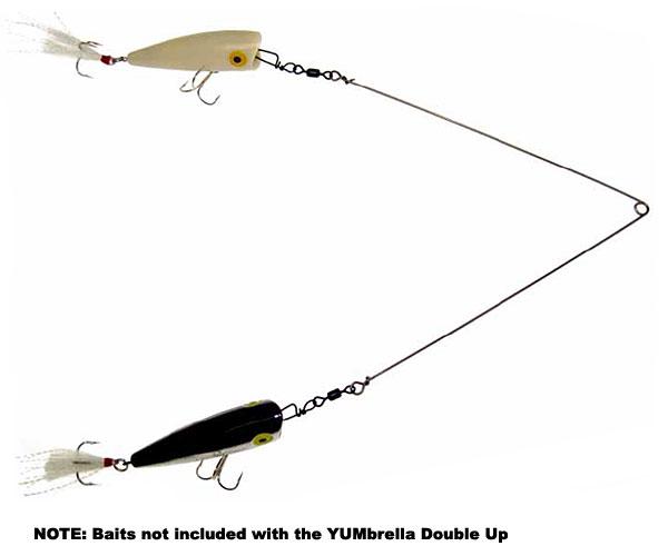 絕贊!Yum YUMbrella Double Up Rig 硬餌雙攻專用鐵絲
