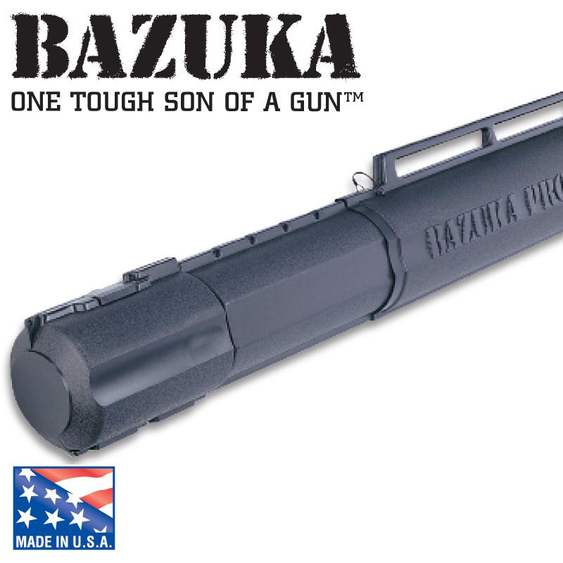 終極強悍!Flambeau Bazuka Pro Rod Storage 硬式竿筒