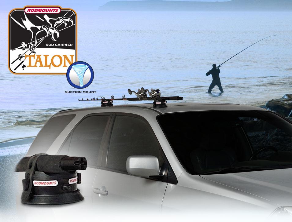 RODMOUNTS Talon 吸盤式車外竿架