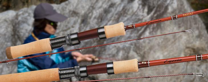 鱒魚竿類型概述