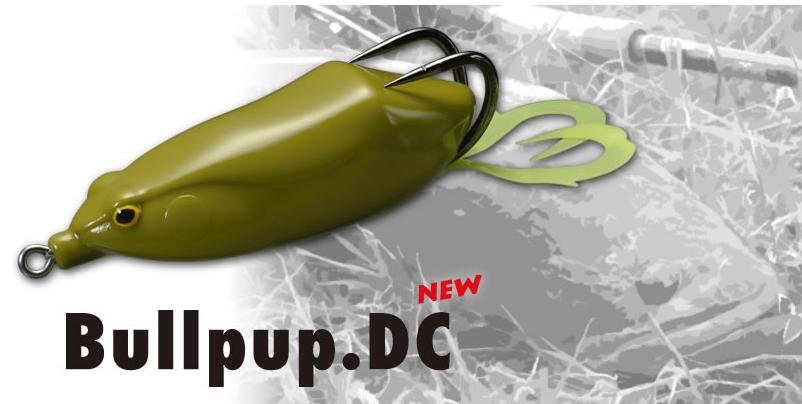 遠投專用!whiplash factory Bullpup.DC 雷魚釣用蛙