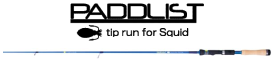 Kayak餌木樂!SMITH PADDLIST tip run for squid餌木竿