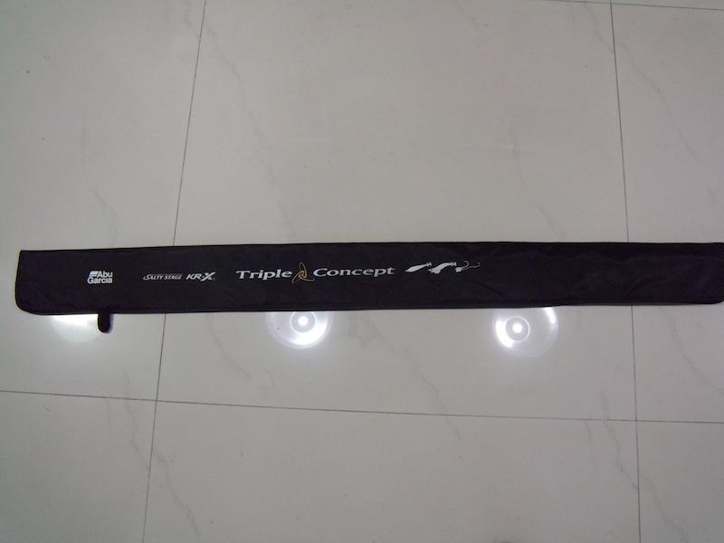 多功能需求,Abu Garcia SALTYSTAGE KR-X Triple Concept STCC-792LS-KR 購入!