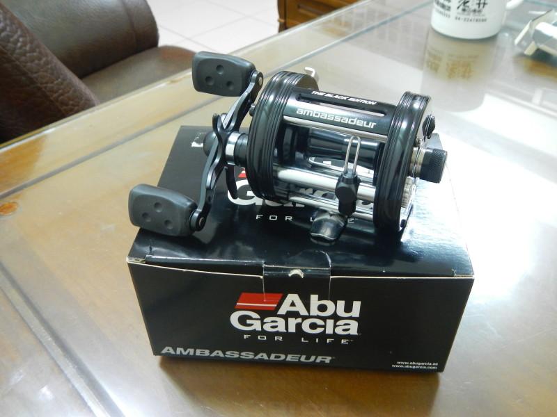 Abu Garcia AMBASSADEUR PROROCKET Black 雙軸鼓式捲線器開箱