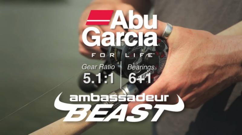 猛獸鼓式化Abu Garcia Ambassadeur BEAST ROUND雙軸鼓式捲線器