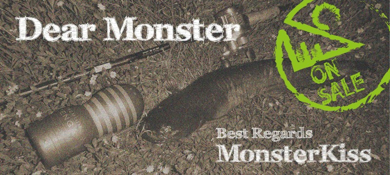 百變金剛!Monster Kiss DearMonster 系列遠征竿