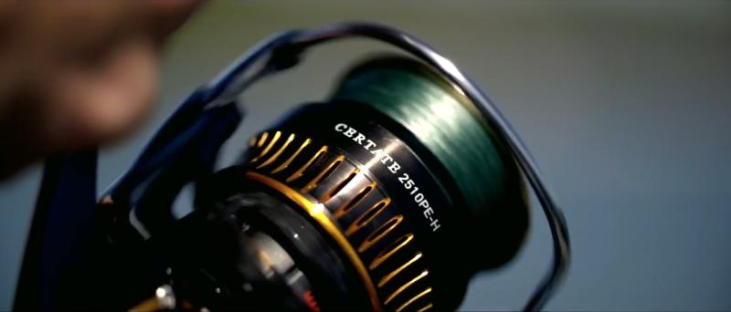 全新基準!DAIWA CERTATE 紡車捲線器 2016樣式