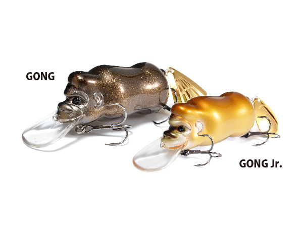 Megabass GONG/GONG Jr. 水面暴坊猿
