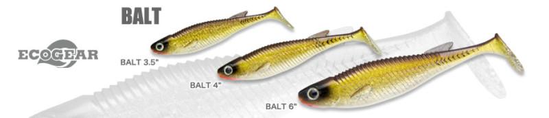 ECOGEAR BALT 擬真軟魚