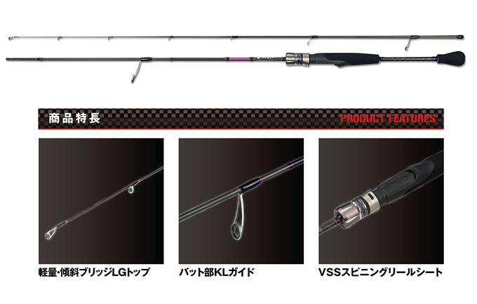 平價輕量!PROX 権蔵鯵丸 竹莢魚專用竿
