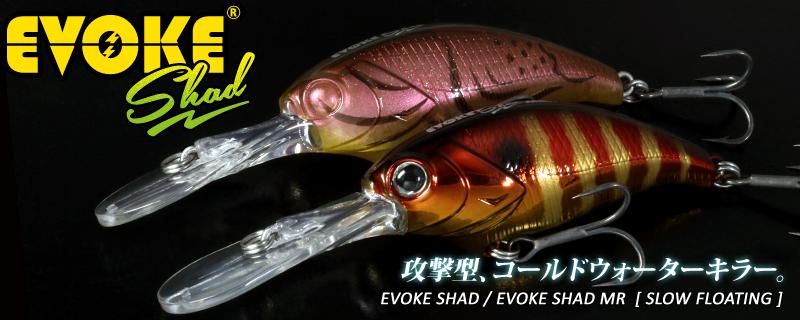 攻擊型CRANK,deps EVOKE SHAD 系列好兄弟