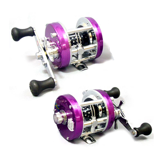 Abu Garcia ambassadeur 5500/5501 CS Rocket Factory Tuned 媚惑炫紫款上市