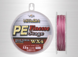 YGK PE Finesse Stage Bass釣專用PE線