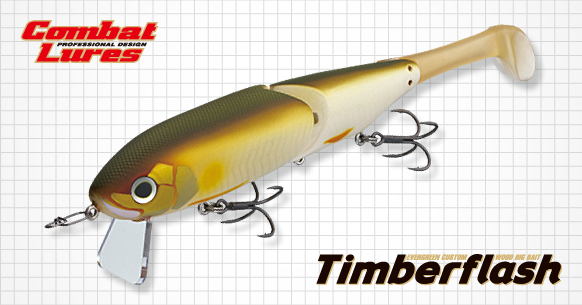 超波動!Evergreen Timberflash 搖擺多節魚