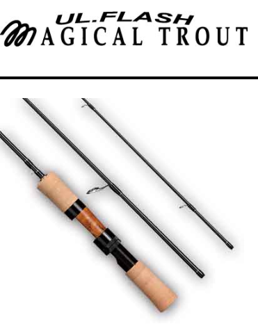 Q彈有力 SMITH MAGICAL TROUT UL.FLASH 鱒魚竿