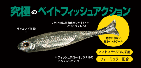絕殺!Fish Arrow Flash-J Huddle SW 1″ 小魚專門